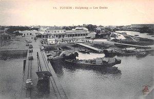 Haiphong, Les Docks Tonkin Vietnam, Viet Nam Unused
