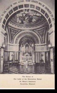 Missouri Columbia The Shrine Of Mirculous edal ST. Marys Seminary Perryville ...