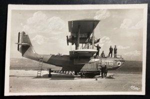 Mint France Real Picture Postcard Hydroplane Principal Base Berre