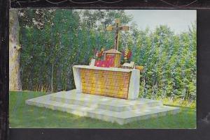 Outdoor Altar,St Patrick's,Damariscotta Mills,ME Postcard