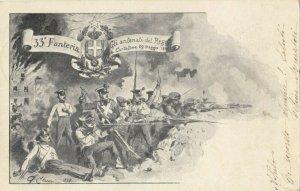 Military ; Italy , 1900-10s : 33 Fanteria