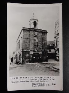 OLD TONBRIDGE TOWN HALL Pamlin Print Postcard No.C1483