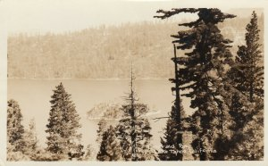 RP: LAKE TAHOE , California , 1910-20s; Emerald Bay