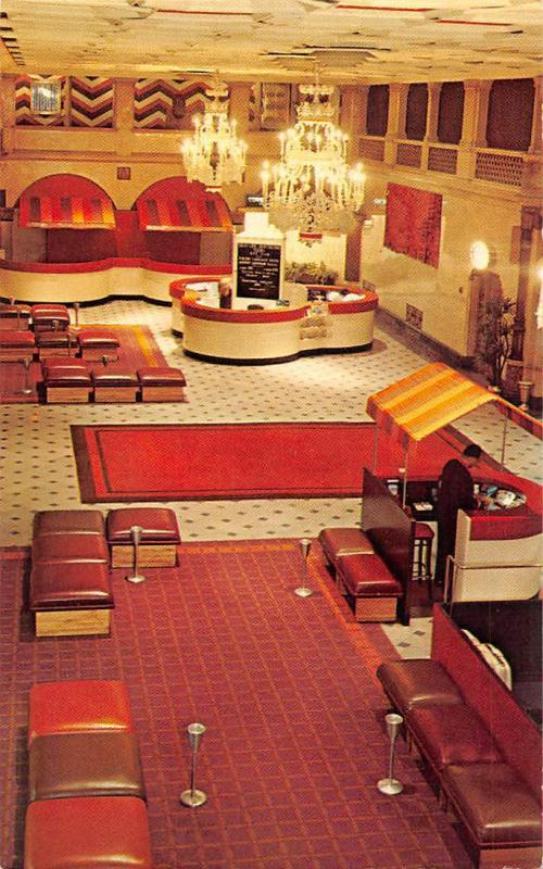 The Hotel Taft at Radio City and Rockefeller Center, interior 1974