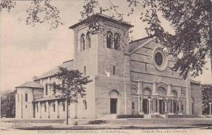 Ohio Oberlin Finney Memorial Chapel 1908