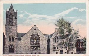 First Presbyterian Church Newport News Virginia 1918