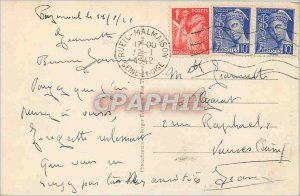 Old Postcard The Ch�teau and Lake - St. Nicolas School Buzenval
