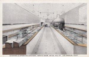 LOS ANGELES, California, 1900-10a; Leighton Co-Operative Cafeteria, Service Room