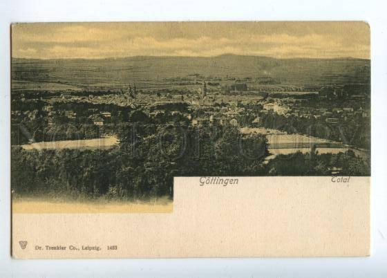151822 Germany GOTTINGEN View Vintage postcard