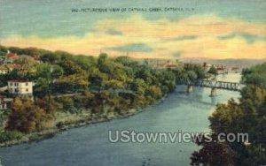 Catskill Creek in Catskill, New York