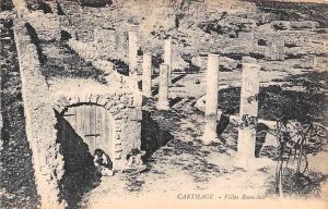Tunisia Carthage Villas Romaines, Roman Villa