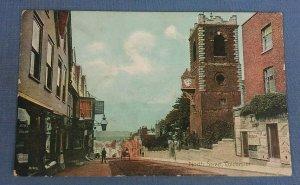 Vintage Postcard North Street Colchester Essex H1C