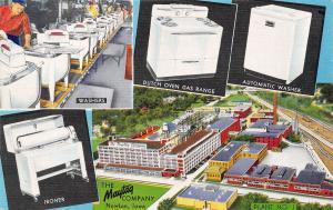Newton IA~Maytag Company Plant 1~Wringer Washers~Automatic~Ironer~Art Deco Linen