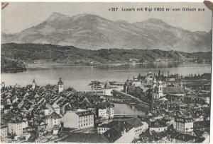 Switzerland Luzern mit Rigi 01.21