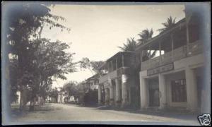 tanzania, TANGA, King Street, The Tanga Post (1921) RP
