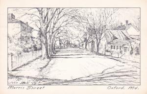 Maryland Oxford Morris Street 1974