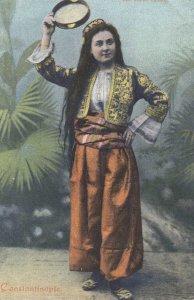 Une beaute dansant , CONSTANTINOPLE , Turkey , 1898-1907