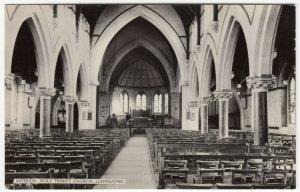 Caernarvonshire; Interior, Holy Trinity Church, Llandudno, PPC By Dennis, Unused