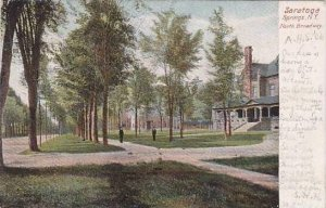 New York Saratoga Springs Entrance To Woodlawn Park 1906