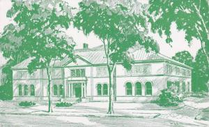 Exterior, Green Illustration of the Berkshire Museum, Art, Science, Local His...