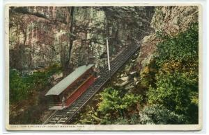 Cable Incline Railroad Lookout Mountain Tennessee 1913 Phostint postcard