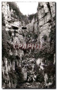 Modern Postcard The Beautiful French Alps Vercors The Great Narrow Cascade Ve...