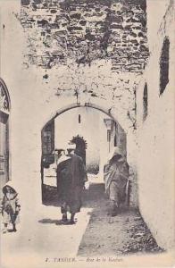 Morocco Tanger Rue de la Kasbah