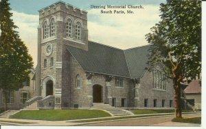 South Paris, Me., Deering Memorial Church