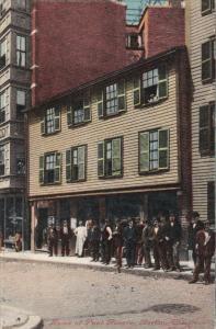 Home Of Paul Revere, BOSTON, Massachusetts, 1900-1910s