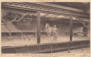 Prince of Wales in Butter, Canadian Pavilion, Wembley, 1924