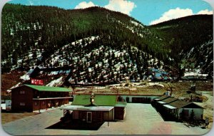 Vtg 1950s Peoriana Motel Idaho Springs Colorado CO Unused Postcard