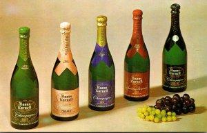 California St Helena Hanns Kornell Cellars American Champagne