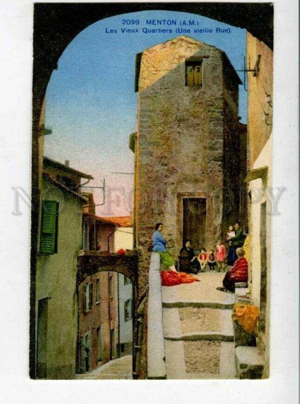 3129608 France MENTON Les Vieux Quartiers Vintage PC