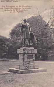 Zur Erinnerung an die Einweihung des Friesen-Denkmals zu Hartwarder-Landwehr ...
