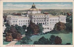 Library Of Congress Washington DC 1919