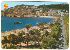 Spain, San Feliu de Guixols, Costa Brava, used Postcard
