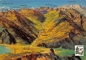 Ferieparadies Glemm und Saalachtal Salzburger Land Map Maishofen Wilder Kaiser