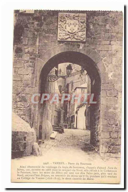 Valves Gate Old Postcard Executioner