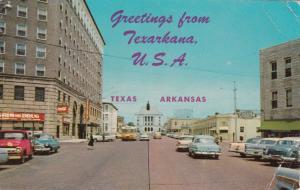 Stateline Avenue, Greetings from Texarkana, USA, PU-1966