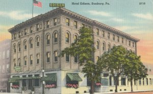 SUNBURY, Pennsylvania, 1930-40s ; Hotel Edison