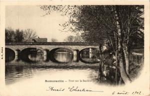 CPA Romorantin - Pont sur la Saudre (740827)