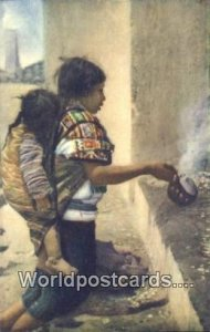 India de Chichicastenango Orando Guatemala, India Unused