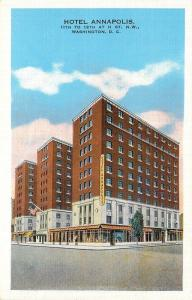 Washington DC~Hotel Annapolis~400 Rooms~400 Baths~Rates From $2.50~H Str~1940s