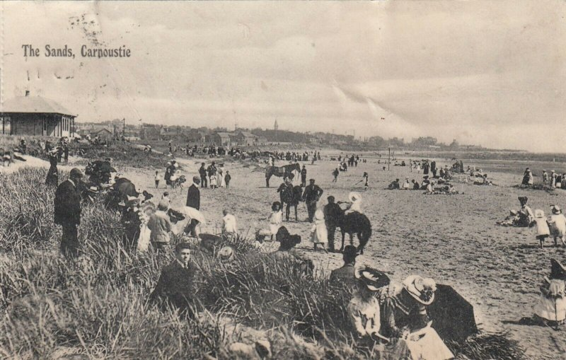 Carnoustie, Angus, Scotland , 1909 ; The Sands