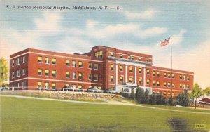 EA Horton Memorial Hospital in Middletown, New York