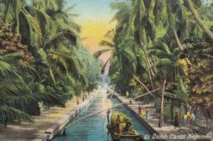 Dutch Canal. Negombo , CEYLON , 00-10s