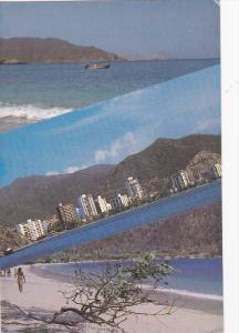 Multi-View, Concha Bay, El Rodadero, Beach, SANTA MARTA, Colombia, 50-70´s