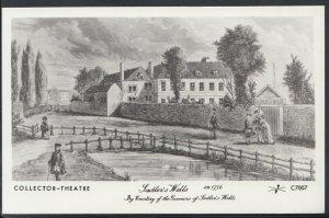 Pamlin Prints Postcard - Theatre - Sadler's Wells in 1756 - RS8278