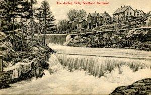 VT - Bradford. Double Falls