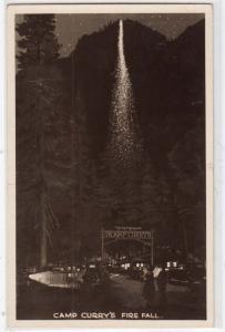 RPPC, Camp Curry's Fire Fall CA